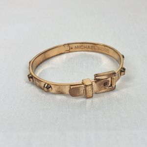 Michael Kors Studded Buckle Astor Bangle Bracelet